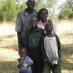 Pastor Kalaluka and his precious family.