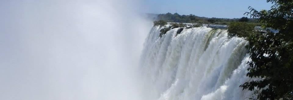 Victoria Falls wet season